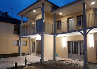 Installation électrique de 15 logements et locaux commun