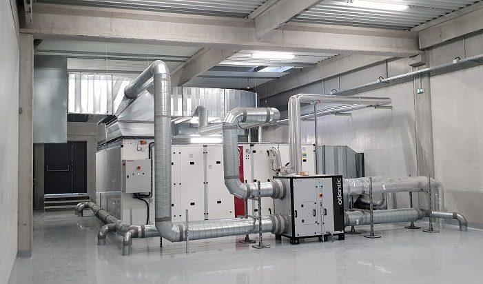 Génie climatique CVC industriel climatisation