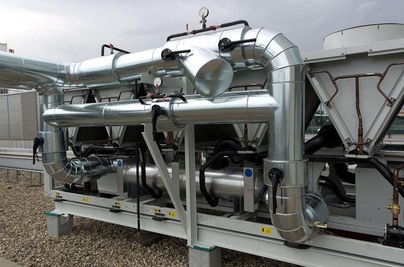 Génie climatique machine climatisation industriel