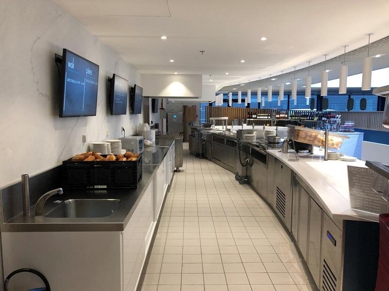 Lerclerc Lourdes cuisine électricité cafétéria