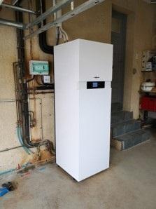 Pompe à chaleur air -eau particulier